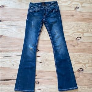 WORN ONCE Anoname jeans Joelle boot cut sz 25